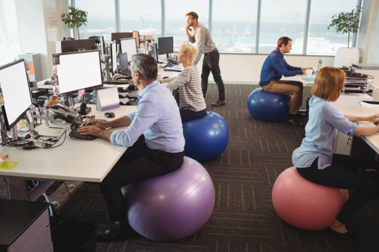 18 Ways to Exercise at Work 1